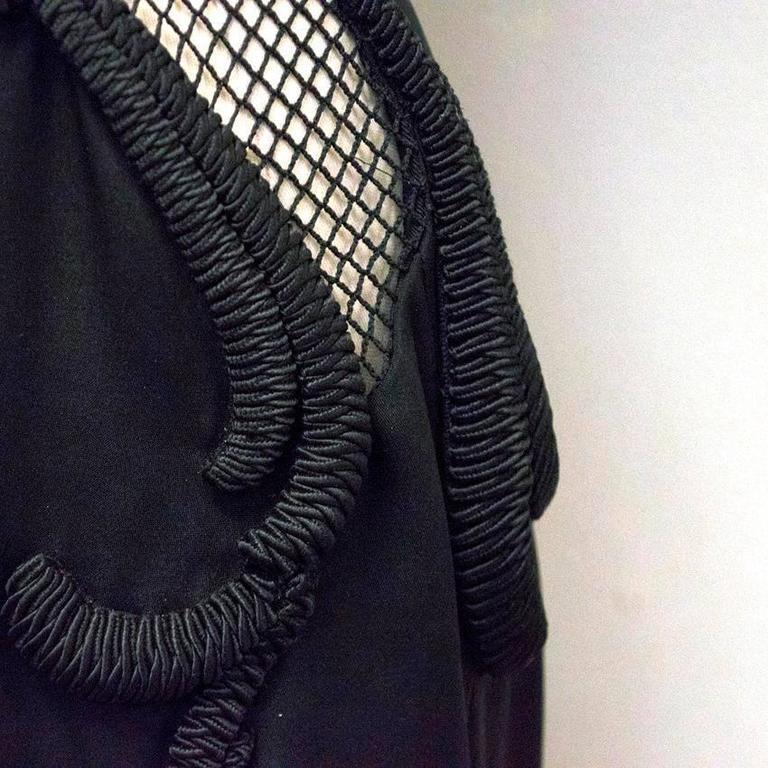 Stella McCartney Black One Shoulder Sleeveless Gown For Sale 4