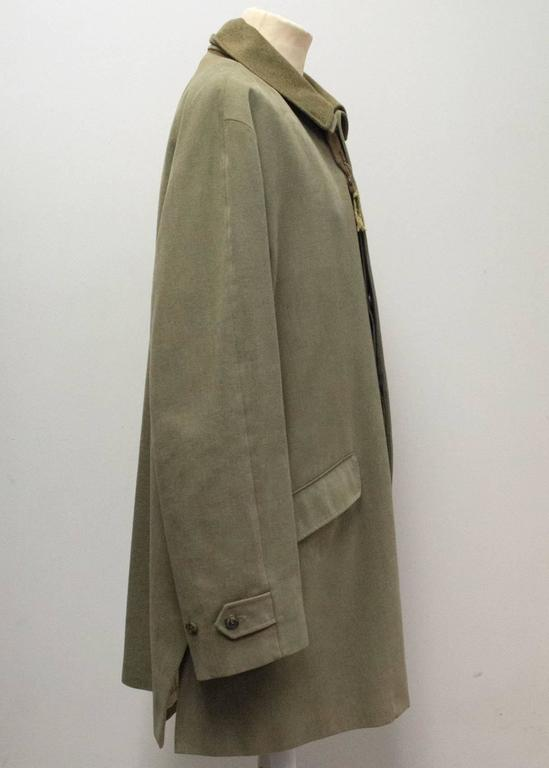 Gray Loro Piana silk blend jacket For Sale