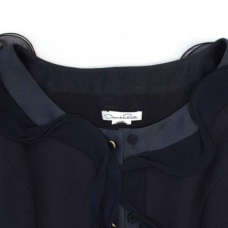 Oscar de la Renta Buttoned Dress with Pockets 2