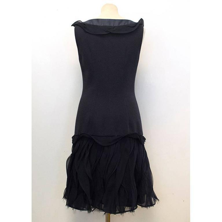 Oscar de la Renta Buttoned Dress with Pockets 6