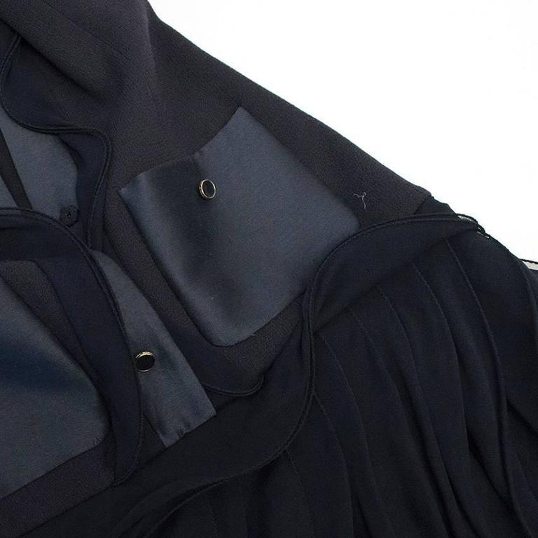 Oscar de la Renta Buttoned Dress with Pockets 7