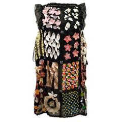 Dolce & Gabbana Patchwork /Embellished Shift Dress