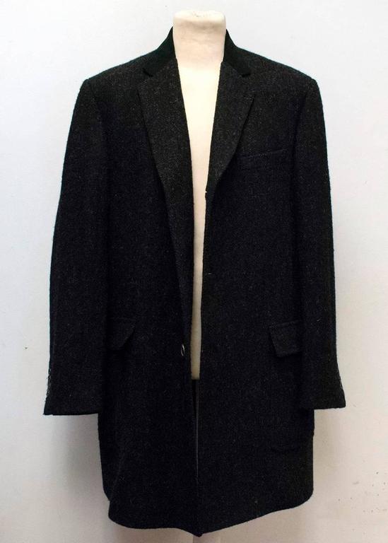 Margaret Howell Dark Wool Overcoat For Sale At 1stdibs