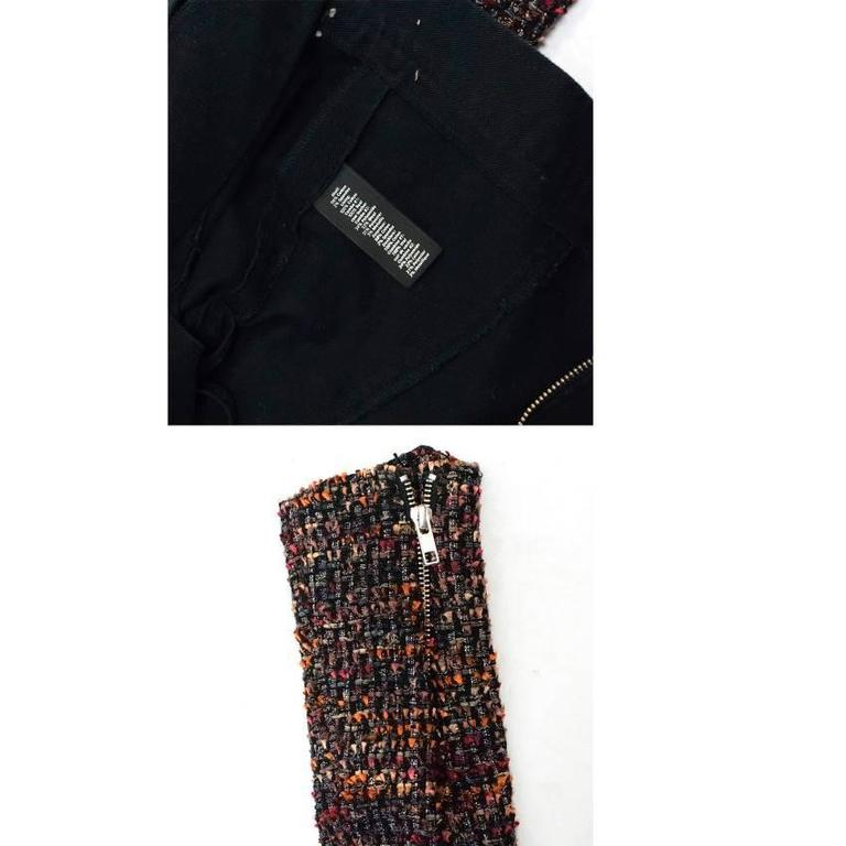 Elizabeth and James Current Season 'Rory' Boucle/ Denim Biker Jacket 8