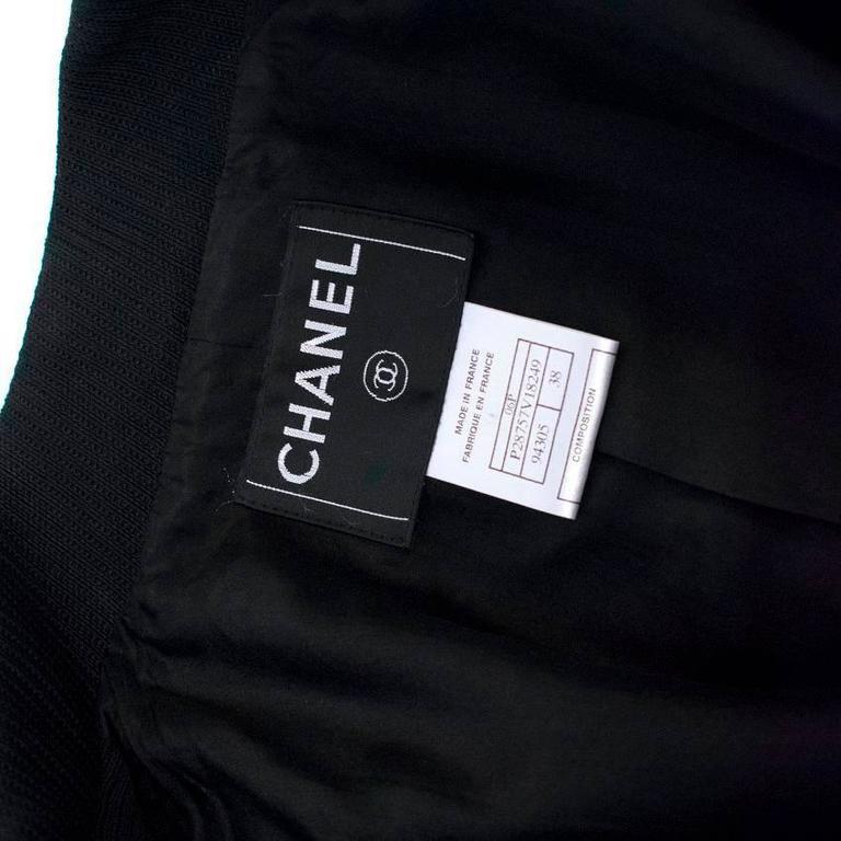 Chanel Black Military Blazer 6