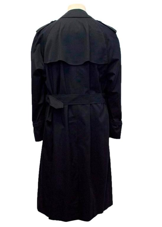 SKU#PN78 Denim Trench Coat In Navy Blue Double breasted. Click to Enlarge. Availability: In Stock. US $ Rating. Look stylish in winter season by getting dressed in this exclusive trench coat for men Comes designed in denim fabric made of % cotton Available color – Navy blue SKU#PN78 Denim Trench Coat In Navy Blue.