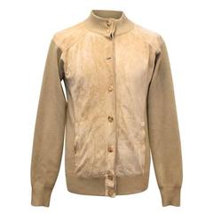 Gucci Men's Khaki Wool Jacket