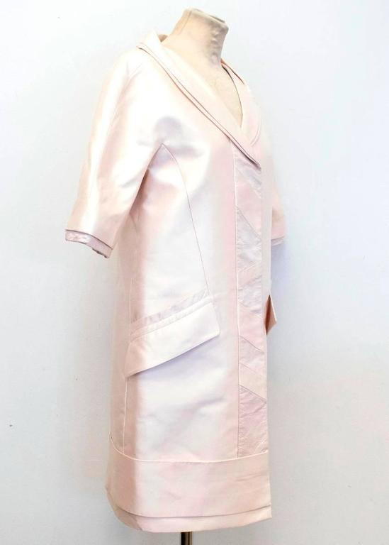 Louis Vuitton Cream Silk Lightweight Coat 2