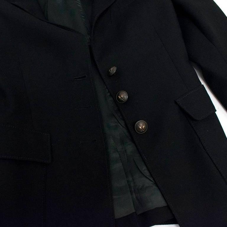 Balenciaga Black Blazer 3