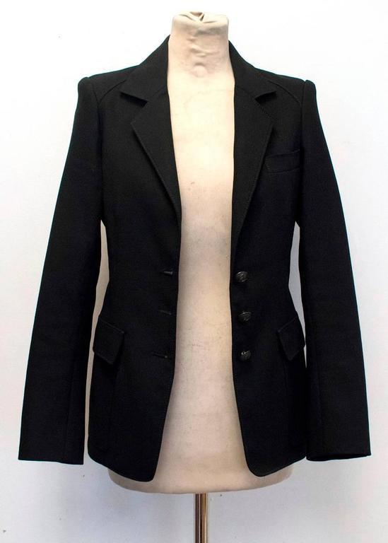 Balenciaga Black Blazer 4