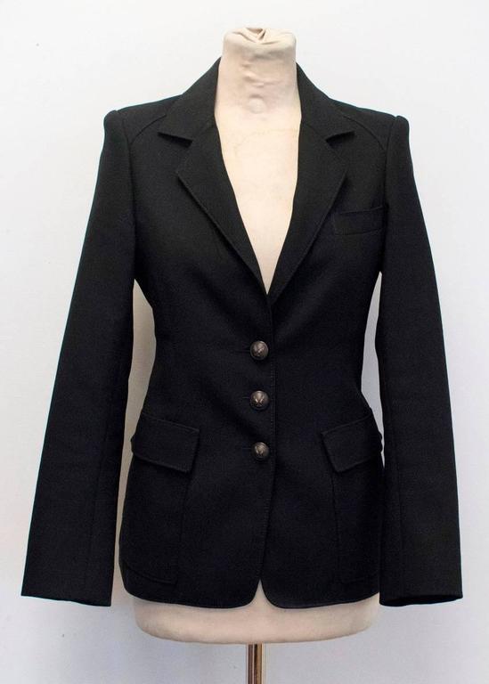 Balenciaga Black Blazer 7