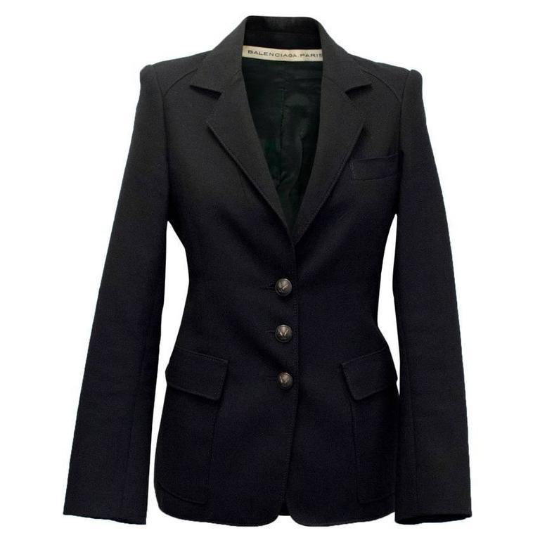 Balenciaga Black Blazer 1