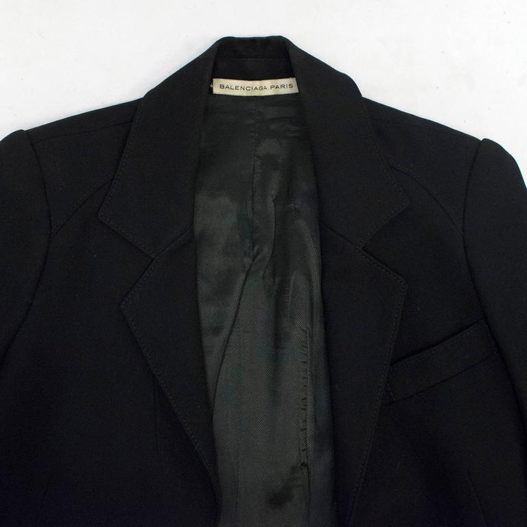 Balenciaga Black Blazer 9