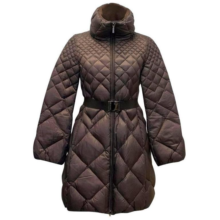 moncler brown coat