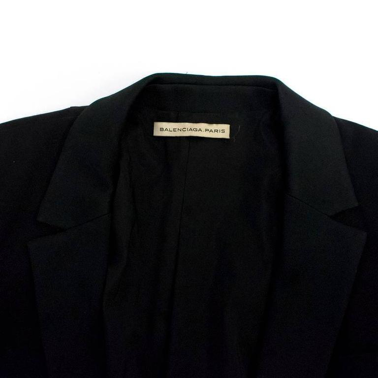 Balenciaga Black Blazer with Pockets  2