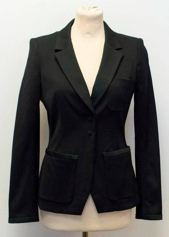 Balenciaga Black Blazer with Pockets  6