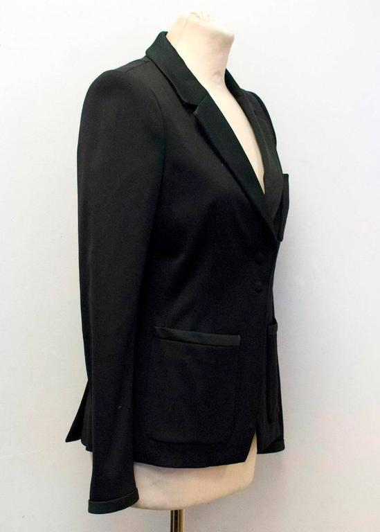 Balenciaga Black Blazer with Pockets  8