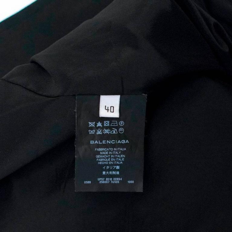 Balenciaga Black Blazer with Pockets  9