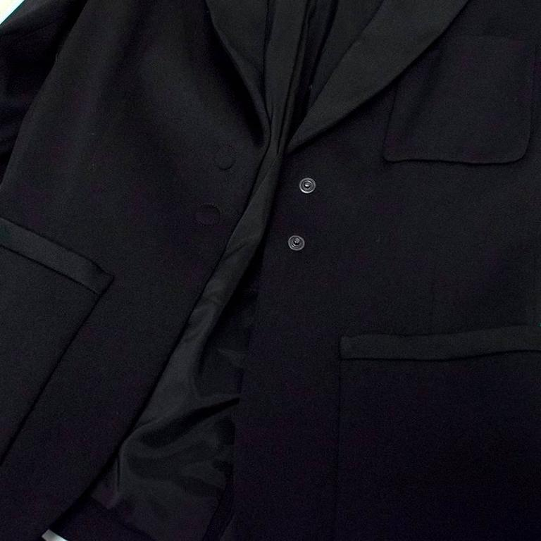 Balenciaga Black Blazer with Pockets  7