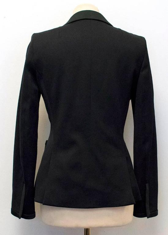 Balenciaga Black Blazer with Pockets  10