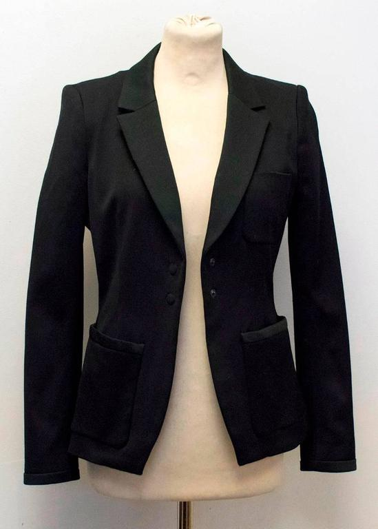 Balenciaga Black Blazer with Pockets  5