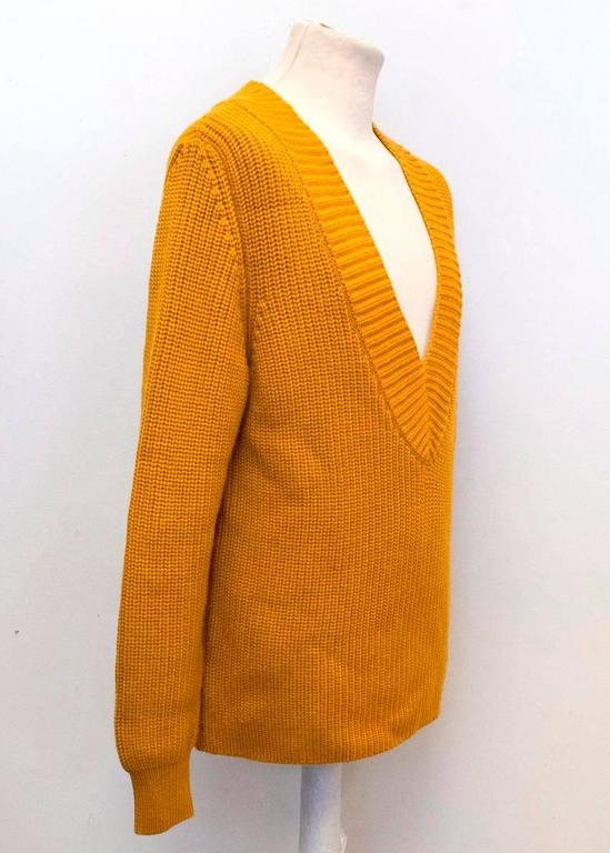 Marni Mens Mustard Yellow Knitted Jumper For Sale At 1stdibs
