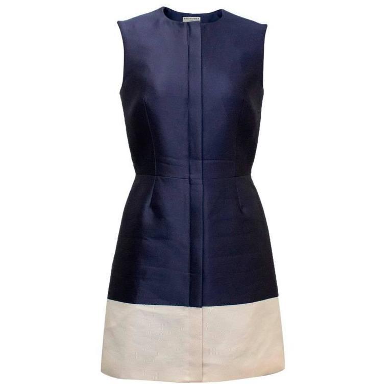 Balenciaga Blue A-line Dress