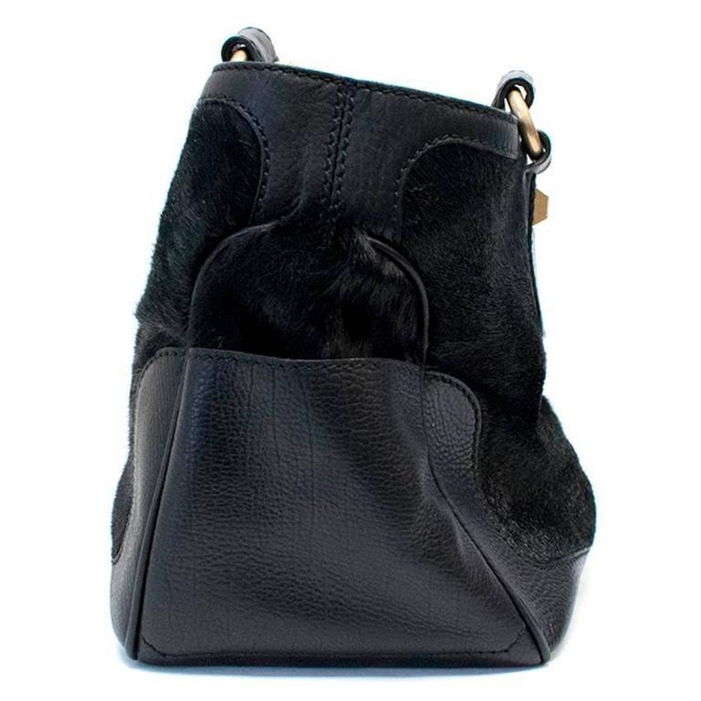 Celine Black Ponyhair Boogie Bag 5