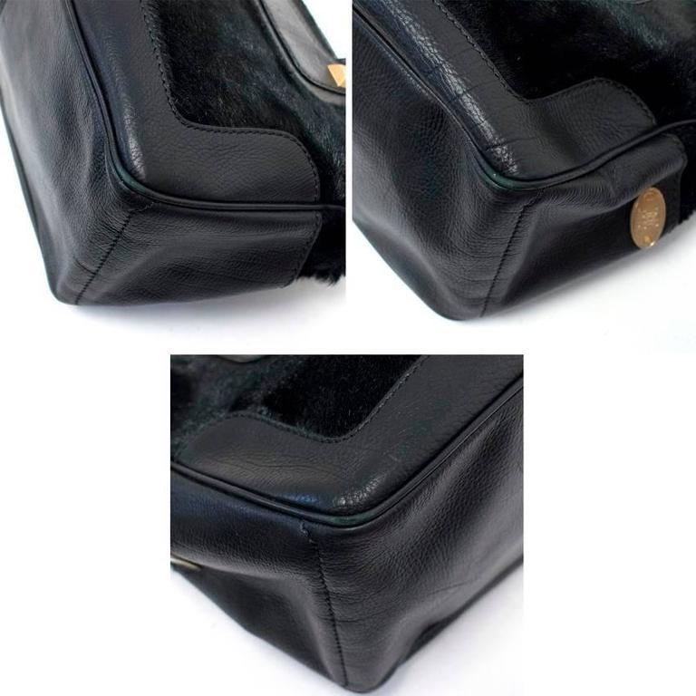 Celine Black Ponyhair Boogie Bag 8