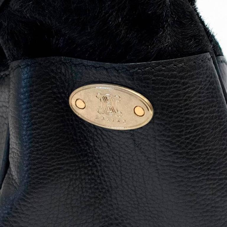 Celine Black Ponyhair Boogie Bag 9