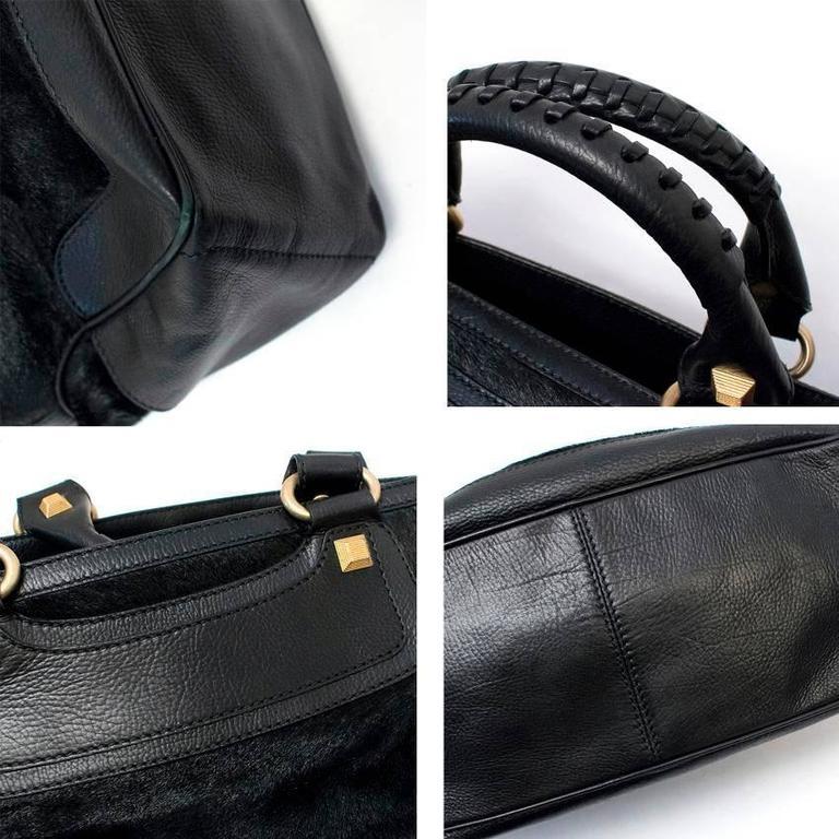 Celine Black Ponyhair Boogie Bag 10