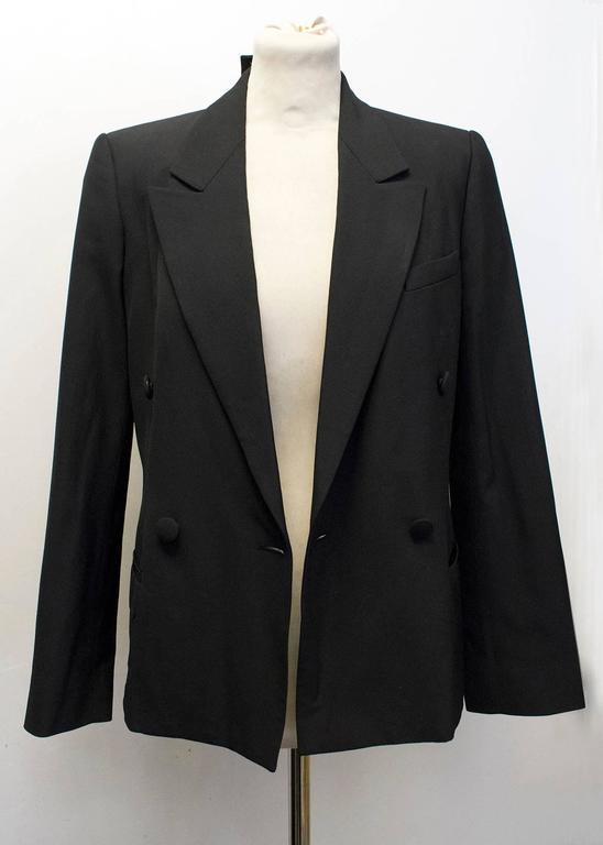 viktor and rolf black blazer for sale at 1stdibs. Black Bedroom Furniture Sets. Home Design Ideas