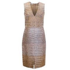 Stella McCartney Crocodile Print Dress