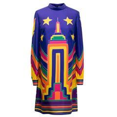 Valentino Multicolored Silk Dress