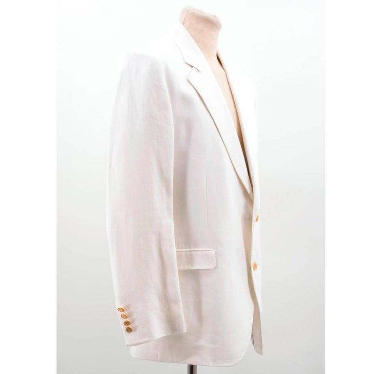 Gray Dolce & Gabbana White Jacket For Sale