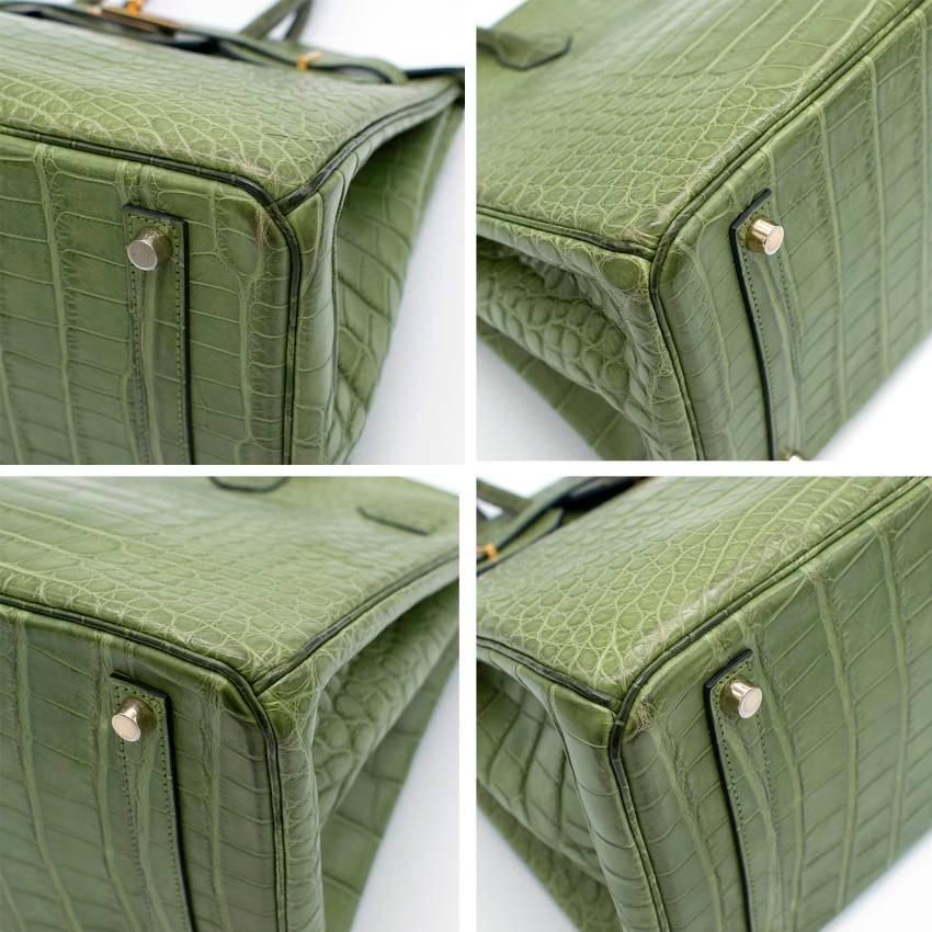 182c54acd3 123456 6f46a 31e30  switzerland hermes 35cm vert anis nilo crocodile birkin  for sale 1 21e25 2d9ea