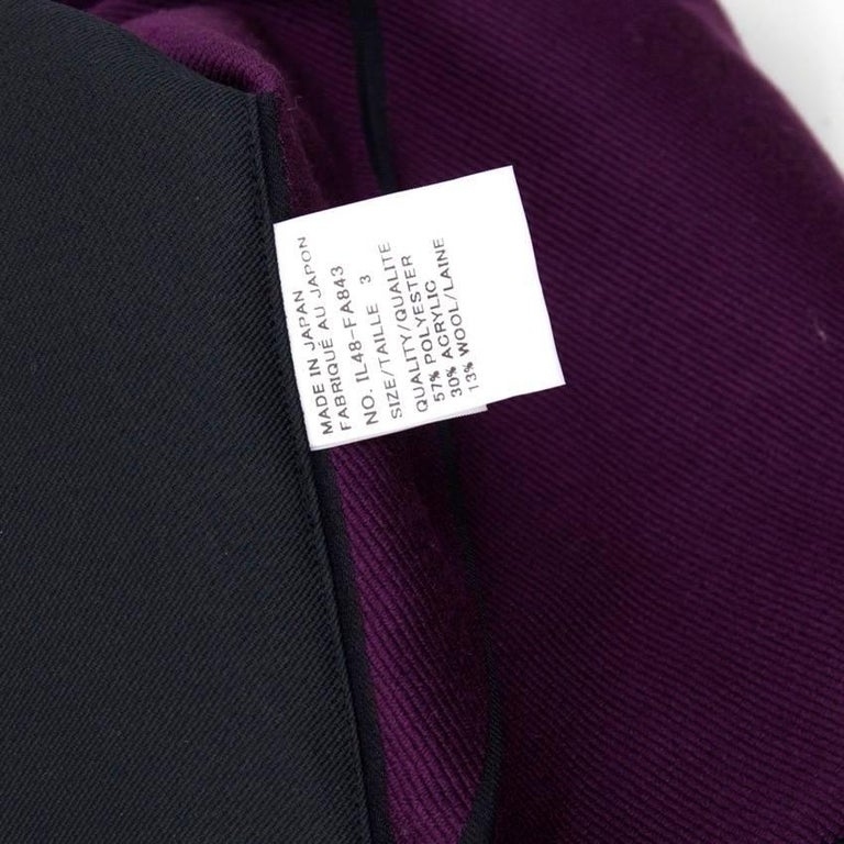 Issey Miyake Hooded Coat For Sale 5