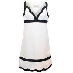Valentino Monochrome Mini Dress