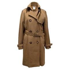 Stella McCartney Khaki Trench Coat