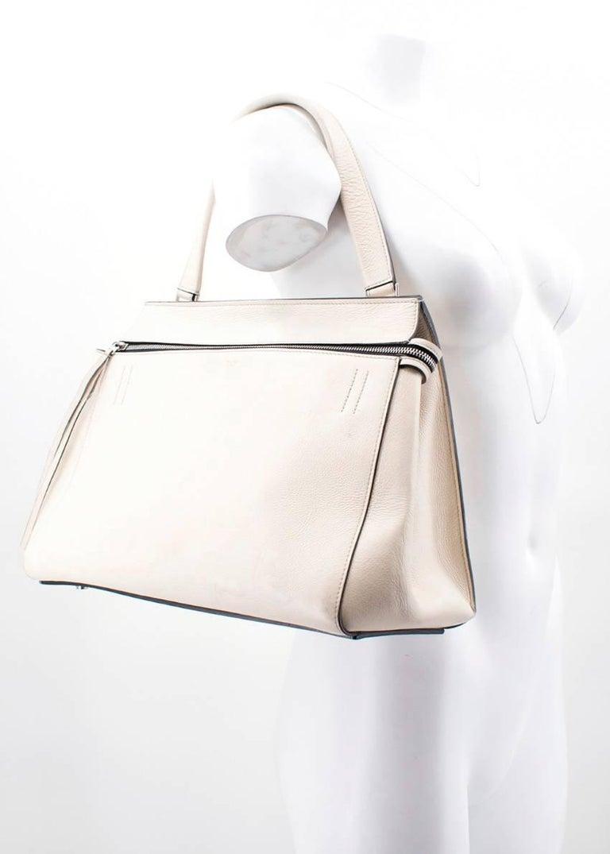 Celine Edge Palmelato Leather Medium Bag For Sale at 1stdibs d846fc057f357