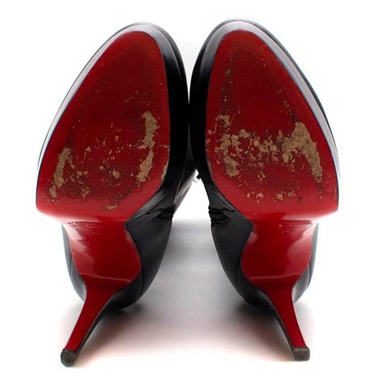 2f19af6fba46 Women s or Men s Christian Louboutin Bianca Botta Platform Boots (US 9) For  Sale