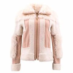 Chloe Brown Lambskin Leather Reversible Jacket (US: 0-2/XXS)
