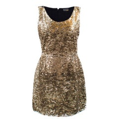 Fendi Sequin Mini Dress US size 6