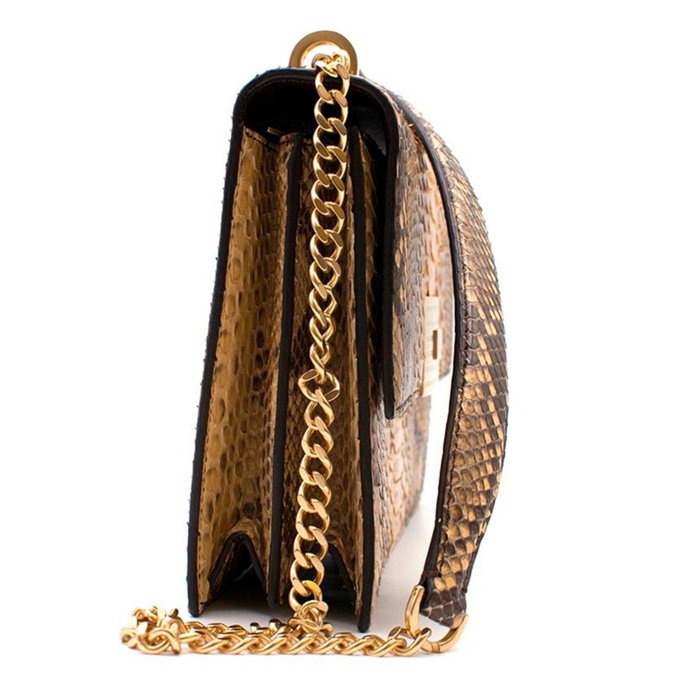 775511e58c03 Ralph Lauren Python RL Chain Bag For Sale at 1stdibs
