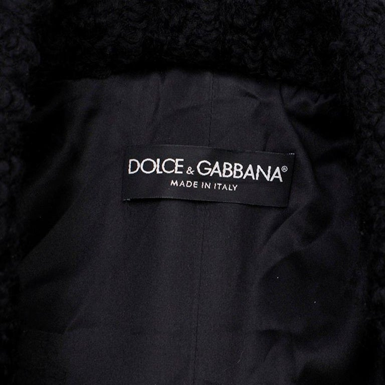Dolce & Gabbana Patchwork Printed Coat  For Sale 2