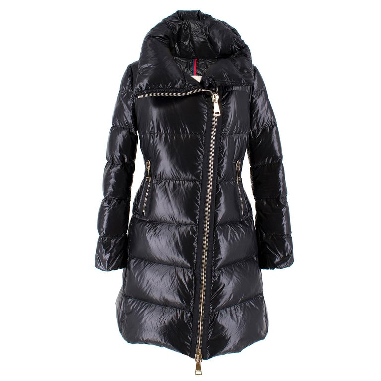 "Moncler ""Joinville"" Asymmetric Padded Coat Size 0-2 For Sale"