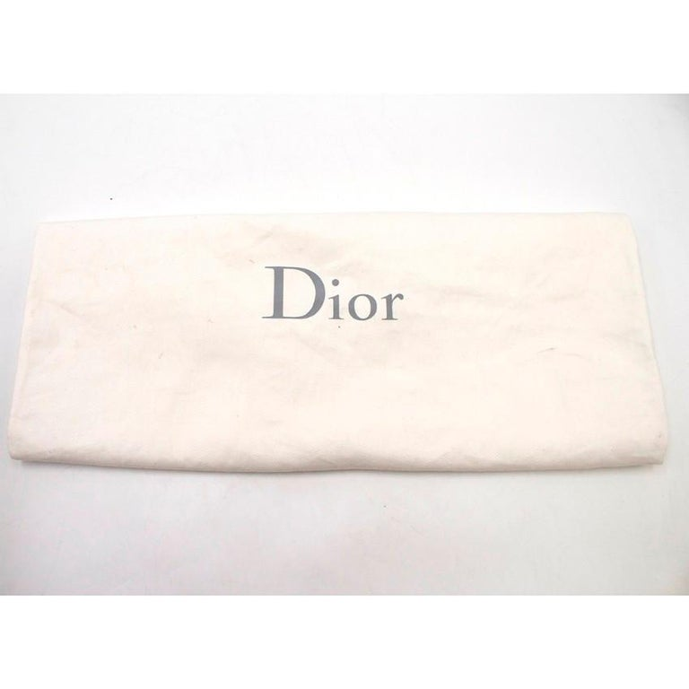 e540a7c9636 Dior Large Diorissimo Silver Ombre Ostrich Bag For Sale at 1stdibs