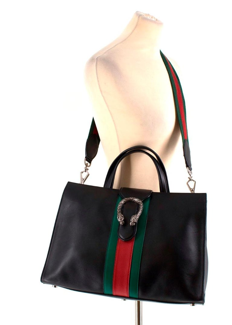 0629de227cf Gucci Dionysus Web-Stripe Top-Handle Bag at 1stdibs