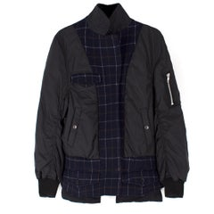 Sacai Wool Blend Bomber Jacket US 6