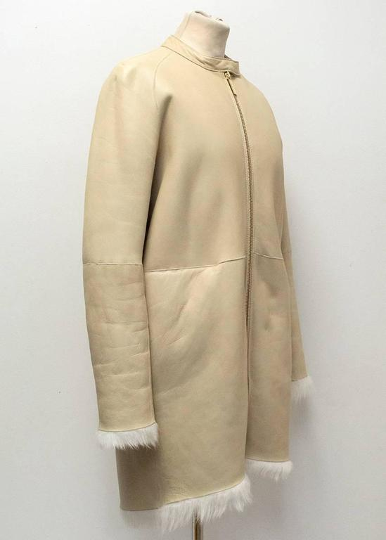 The Row Lambskin Coat 2